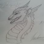 Happy Dragon 11.12.2012 gezeichnet
