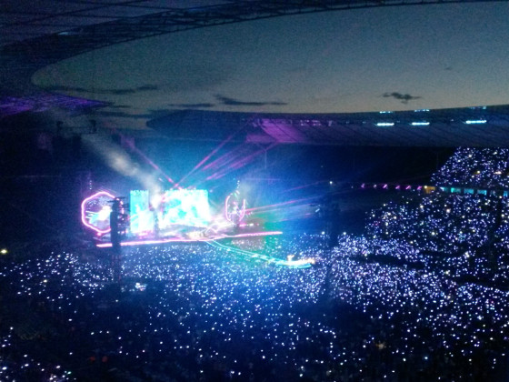 Coldplay live in Berlin