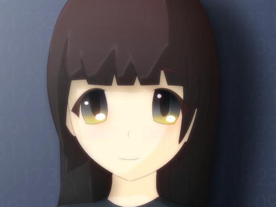 Anime Girl - Ausschnitt meiner Animation