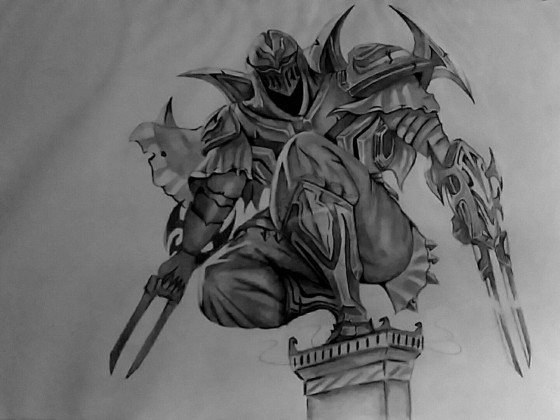 Draw this again - Zed