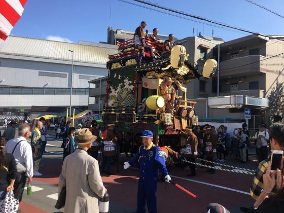 Kawagoe Festwagen von Matsue-cho 2-chome