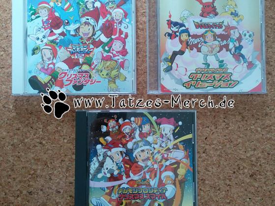 [Meine Sammlung] Digimon - Weihnachts-CDs
