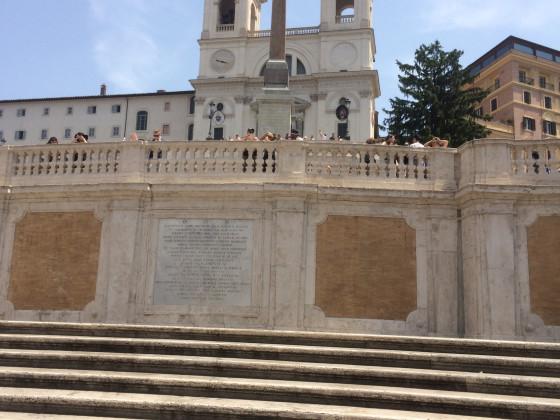 Italienurlaub 5 - Spanische Treppe