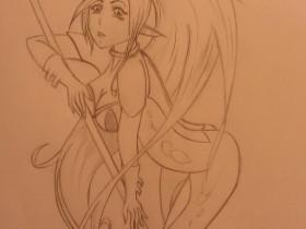 Manga Figuren und Fabelwesen